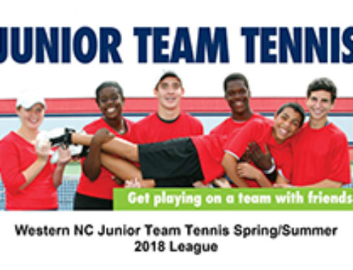 Junior Team Tennis is back in Western NC