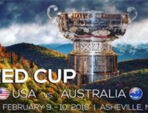 The Fed Cup Returns to Asheville on Feb. 9 – 10, 2019
